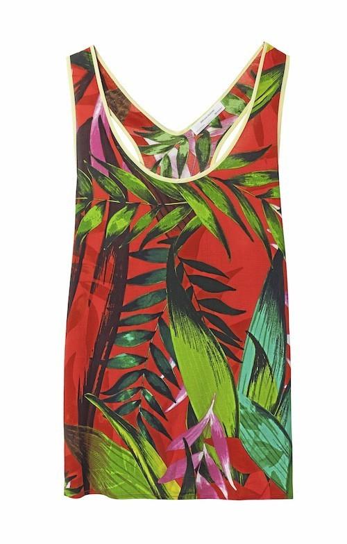 Top imprimé tropical, Zara 22,95 €