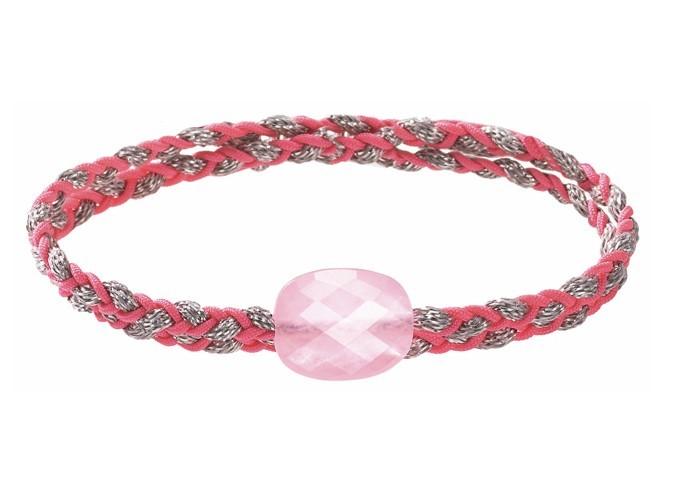 Bracelet tressé pierre fine, Morganne Bello, 85 €.