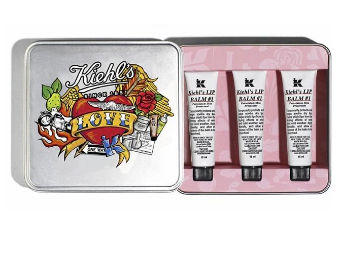 Coffret Saint-Valentin 3 baumes hydratants, Kiehl's, 24 €.