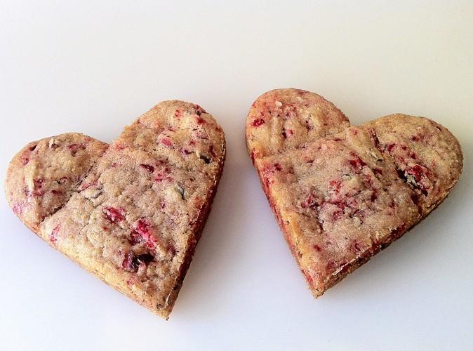 Cookies à la praline rose de Valence, La Fabrique Cookies. 2 € l'unité.