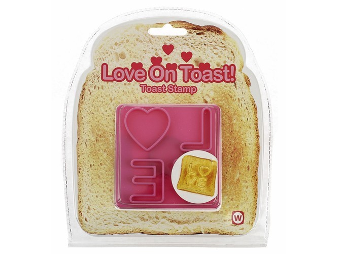 Pochoir à toast Colette.fr, 4 €.