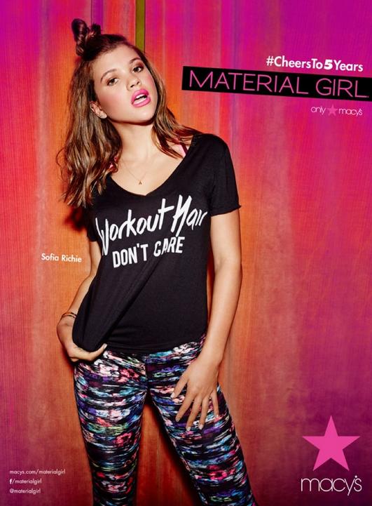 Sofia Richie pour Material Girl