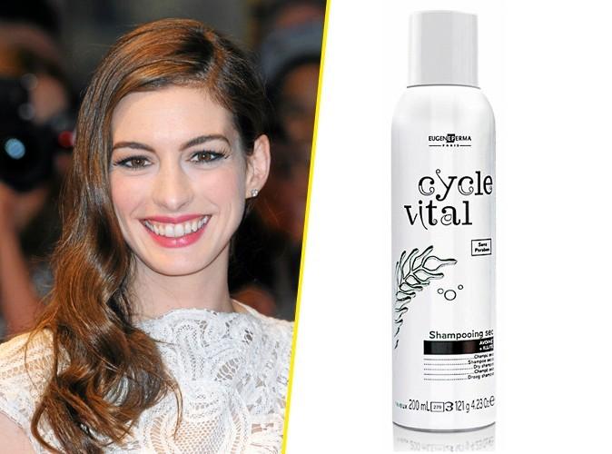 Les cheveux impec d'Anne Hathaway