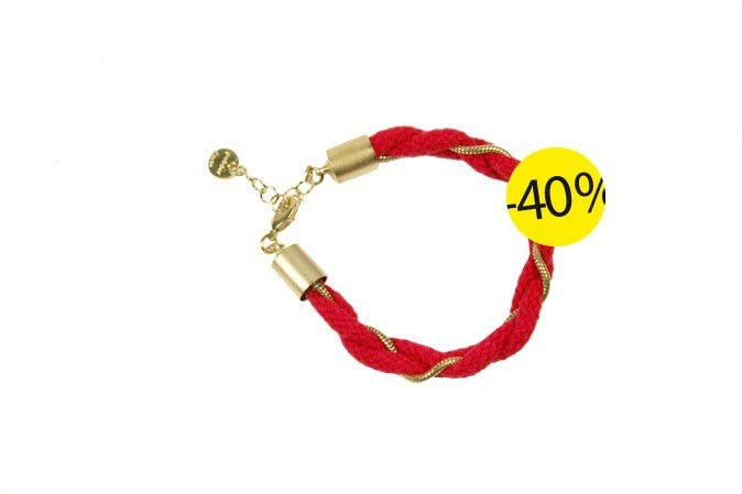 Bracelet Madere rouge, Polder chez Yumestore, : 36 euros au lieu de 60 euros