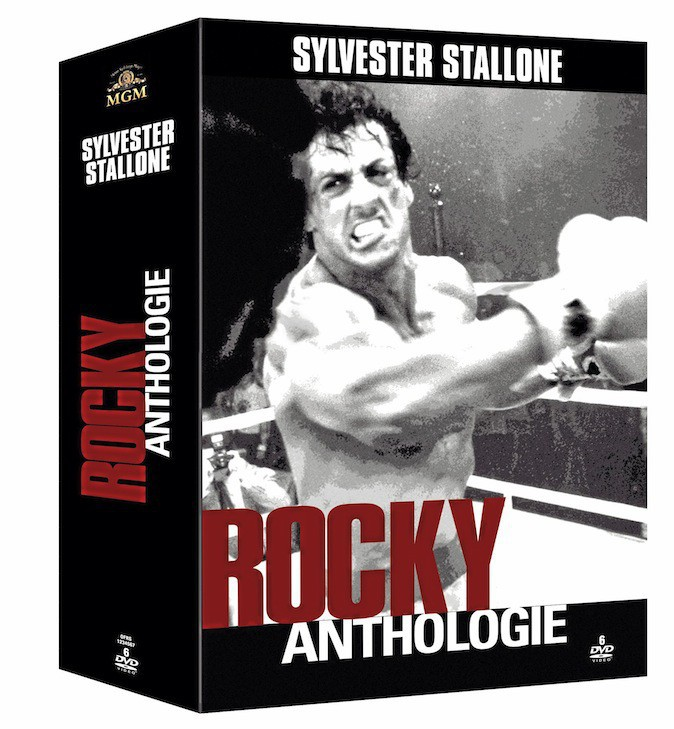 Coffret Rocky, Anthologie, MGM/PFC 28€