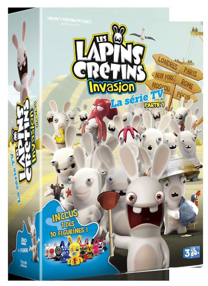 DVD The Lapins Crétins Partie I, France Télévisions Distribution, 15€
