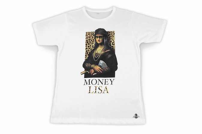T-shirt en coton, Money Lisa 35 €