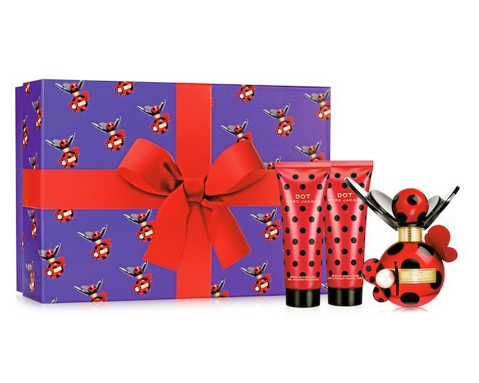 Coffret Dot Marc Jacobs, sur marionnaud.fr 57,90 €