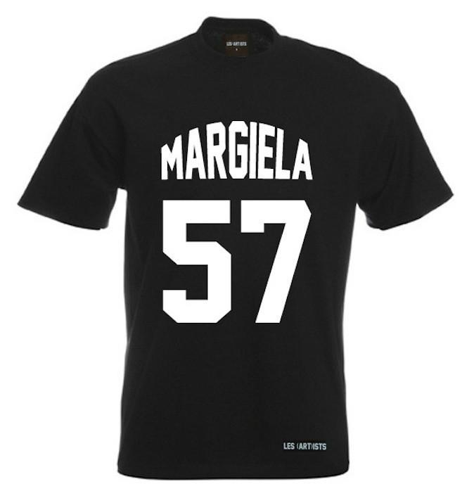 T-shirt en coton Margiela 57, Les Artists 45 €
