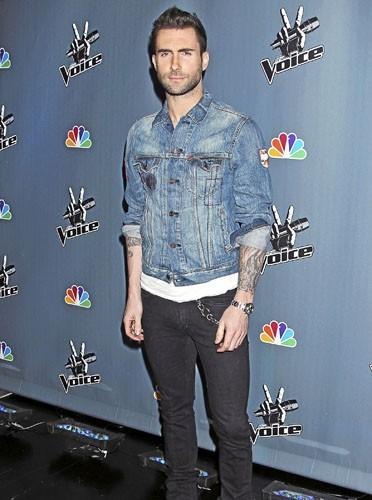 Adam Levine : 100% rock