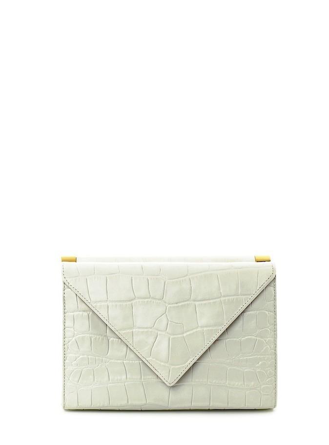Pochette enveloppe en croco, Giuseppe Zanotti Design 460 €