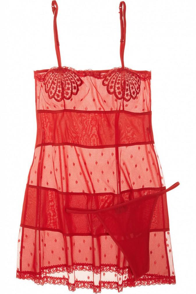 Nuisette et string, La Perla, 320€