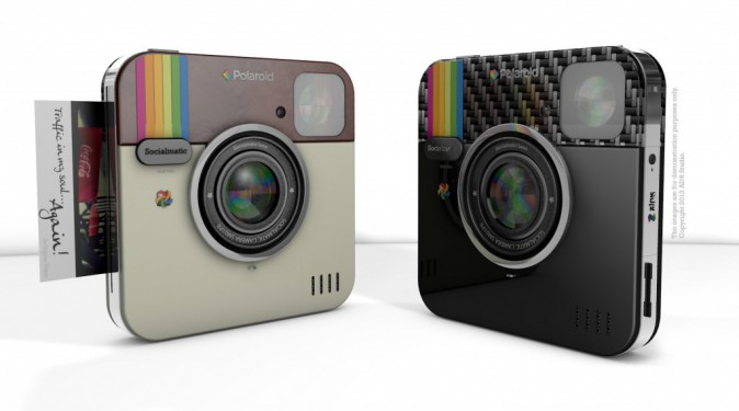 Polaroid Socialmatic Instagram, sortie prévue début 2014, 225 €