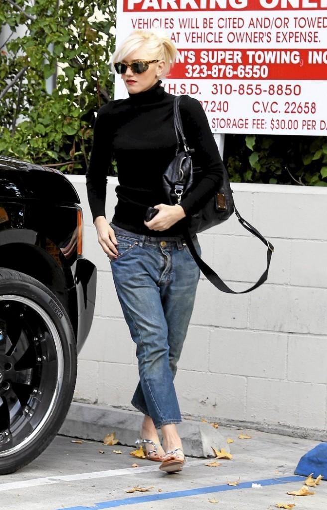 Gwen Stefani et son jean chino