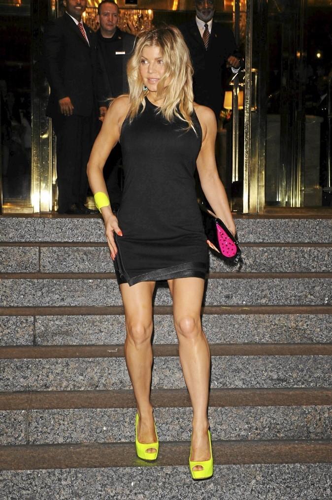 Fergie et ses escarpins Brian Atwood