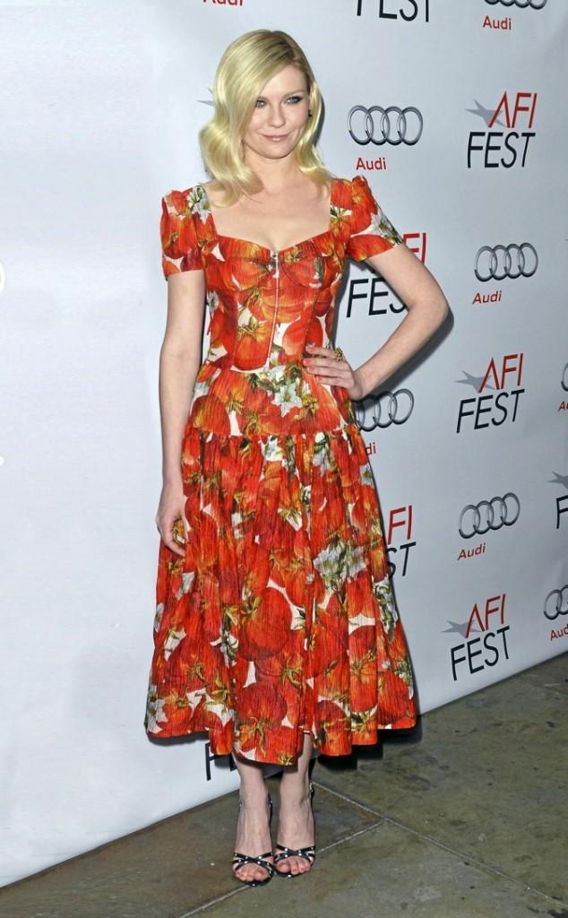Kirsten Dunst en Dolce & Gabbana