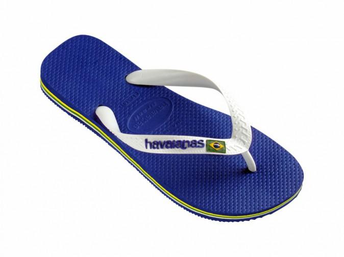 Tongs Brasil logo marine blue, Havaianas 24€