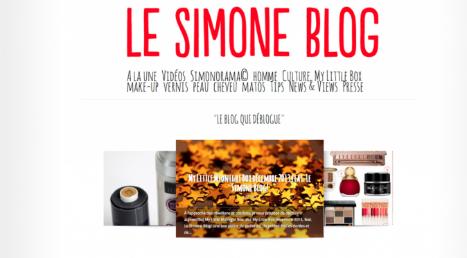 Le simone blog