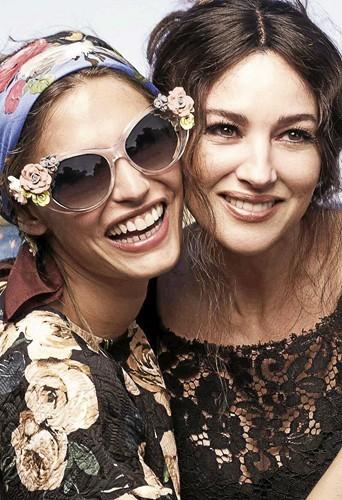 Tendances : Des lunettes bucoliques et romantiques Dolce&Gabbana !