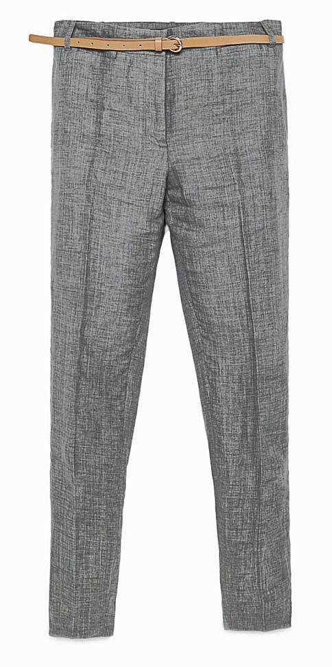 Le gris : Zara 39,95 €