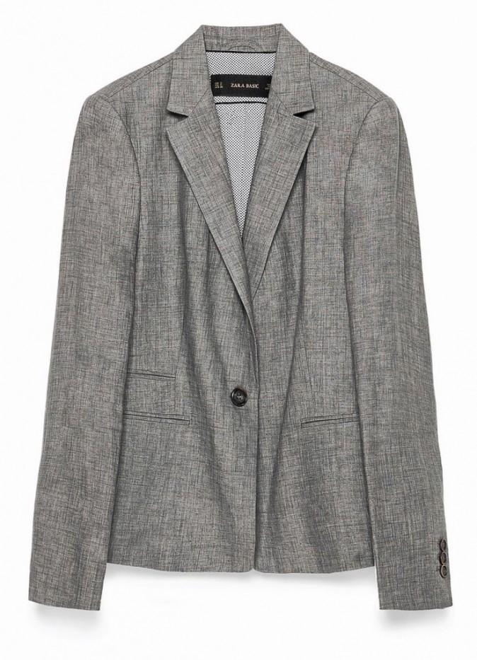 Le gris : Zara 59,95 €