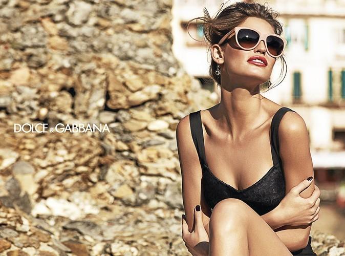 Bianca Balti pour Dolce & Gabbana.