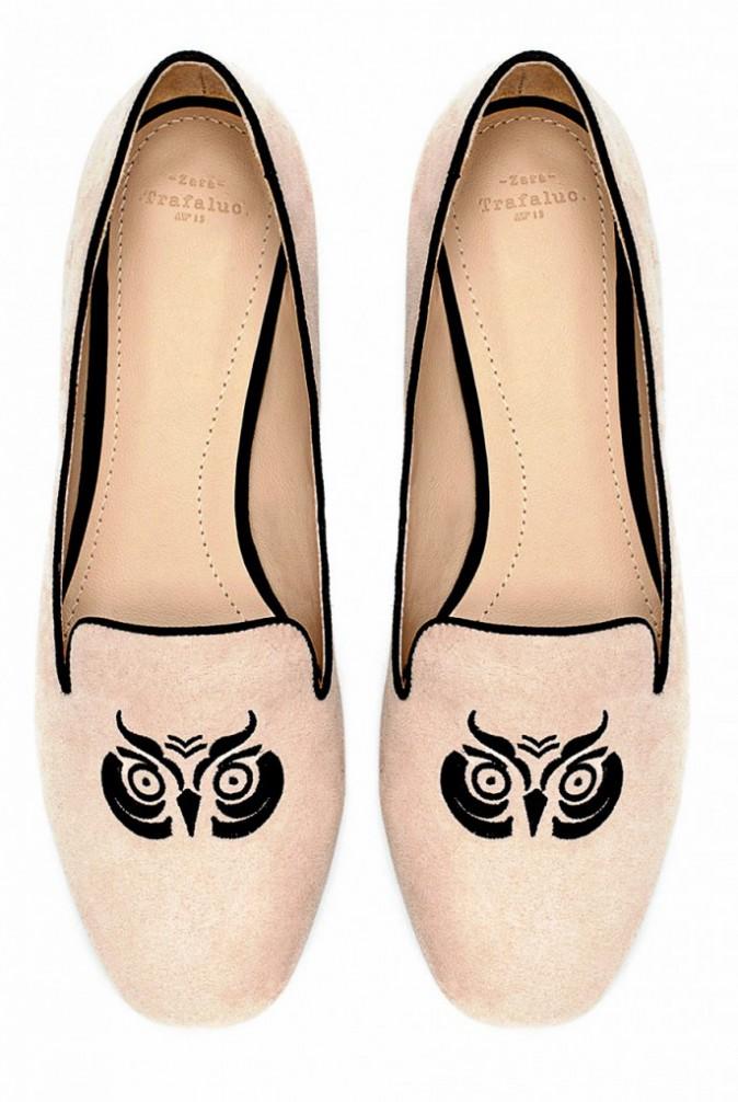 Un hiver à l'eau de rose : Slippers, Zara, 29,95 €