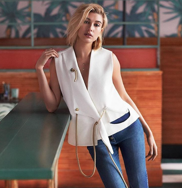 Titre : Photos : Hailey Baldwin : la jolie blonde signe chez IMG Models