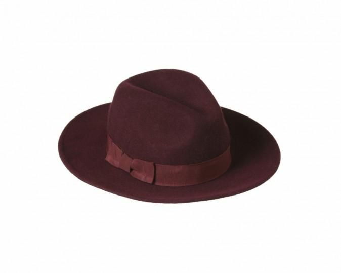 Chapeau bordeaux Primark 8€