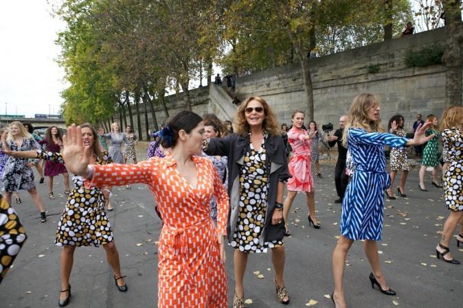 Flashmob de Diane Von Furstenberg