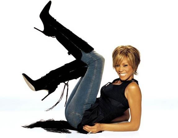 Novembre 2002 : Whitney Houston à Los Angeles