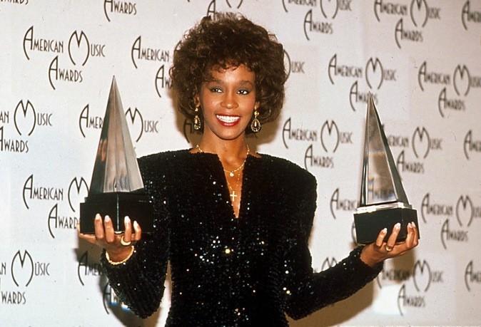 Janvier 1989 : Whitney Houston aux American Music Awards