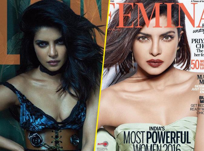 Priyanka Chopra : Doublement envoutante en couverture de Flaunt Magazine et Femina Inde