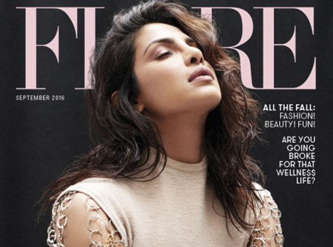 Priyanka Chopra fraîchement envoutante en couverture du magazine Flare
