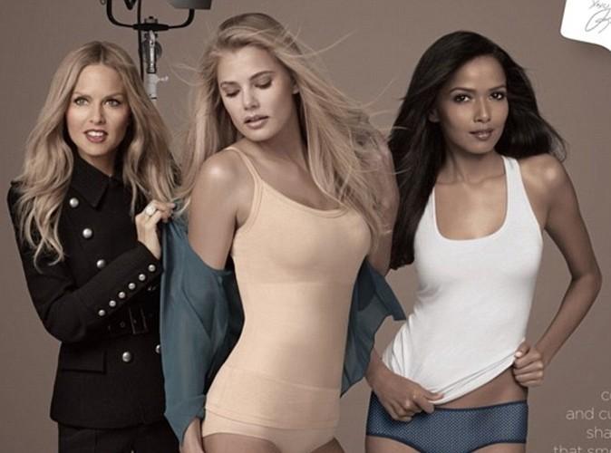 Rachel Zoé : entièrement vêtue sur sa pub de lingerie !