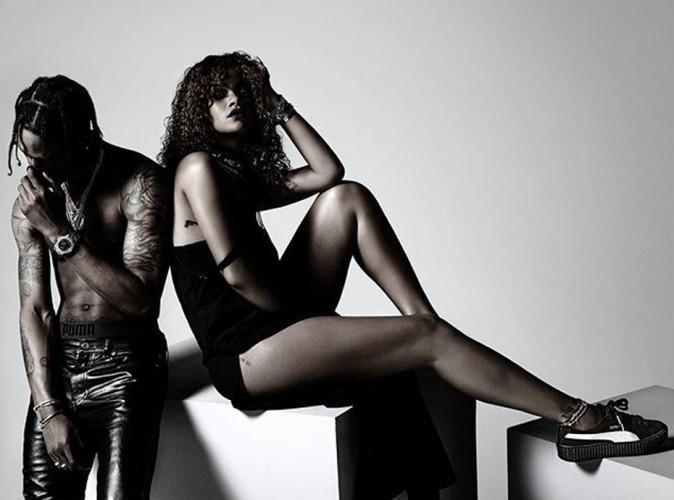 Rihanna et Travis Scott : réunis pour la campagne Puma de la chanteuse !