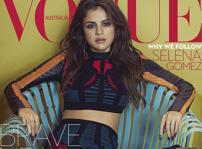 Selena Gomez gracieuse pour sa toute première couverture du magazine Vogue Australie