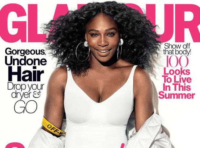 Serena Williams : poitrine généreuse et crinière sauvage, elle s'affiche en couverture de Glamour US !
