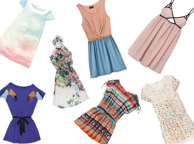 shopping 2012 14 petites robes tendances pour l 39 t. Black Bedroom Furniture Sets. Home Design Ideas