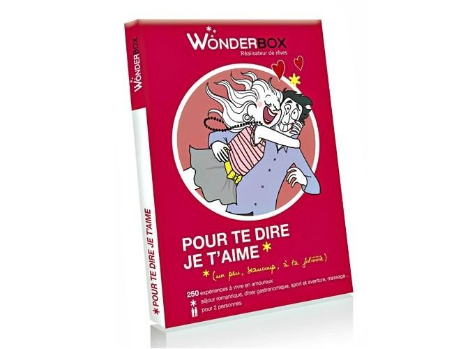 """Shopping : un coffret Wonderbox pour lui dire """"je t'aime"""" !"""
