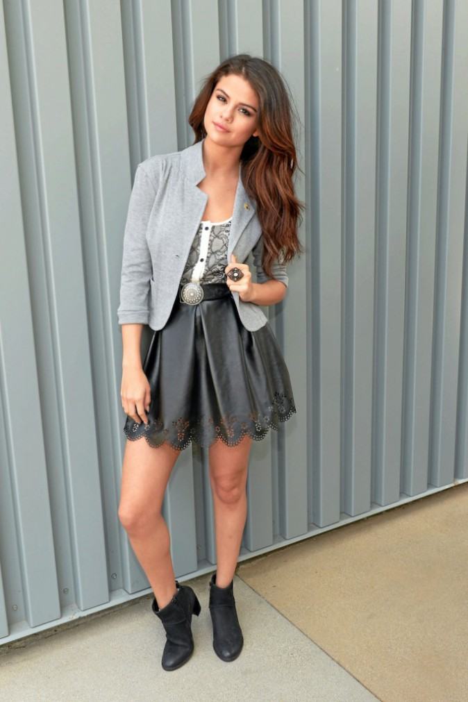Selena Gomez, une alliance de matières grisantes...