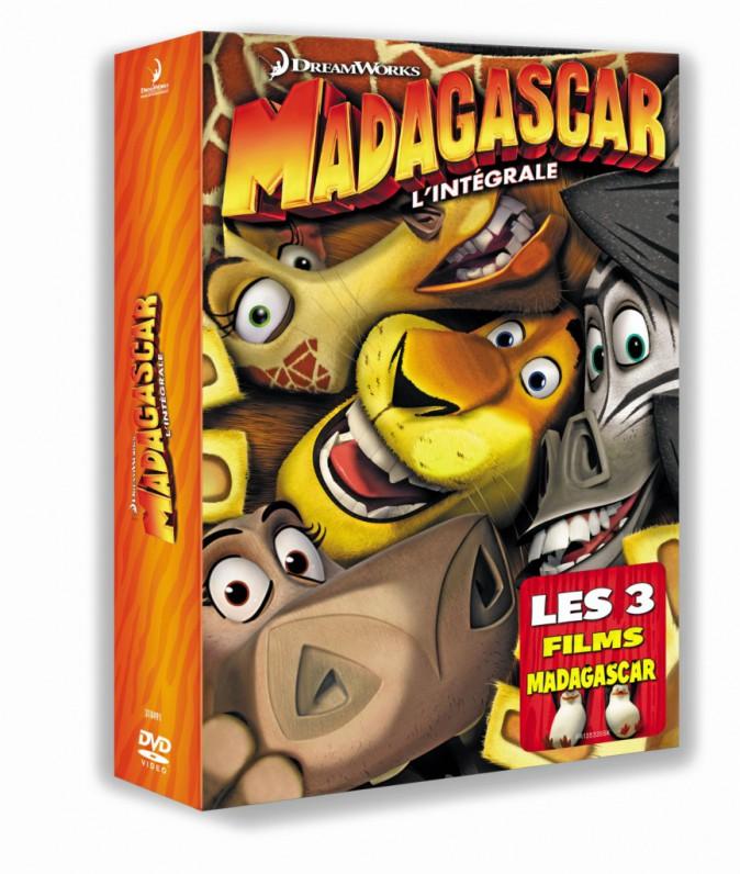 Coffret DVD Madagascar l'intégrale 20€