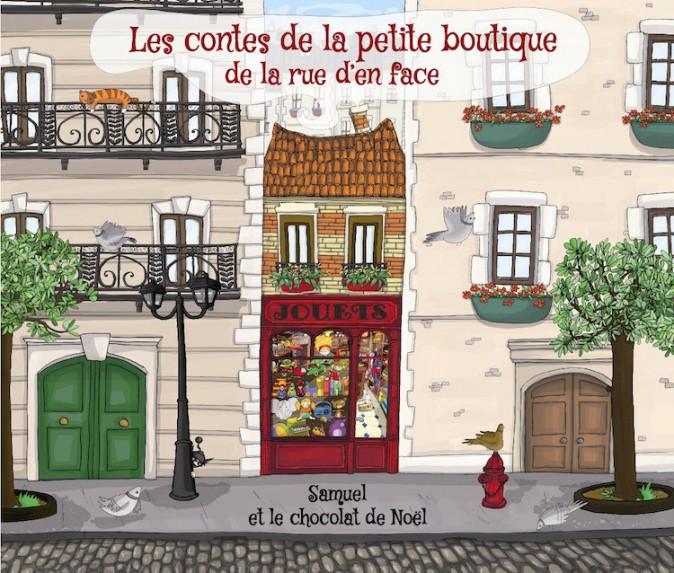 Conte personnalisé, Les contes de la petite boutique de la rue d'en face 5€