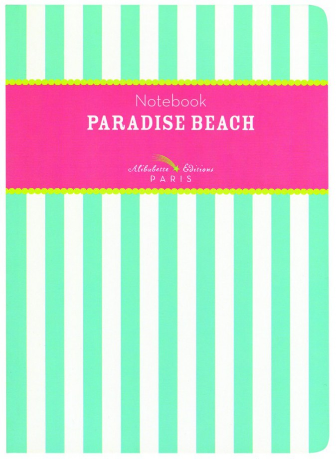 Carnet, Paradise Beach, Alibabette Editions, 7,90€