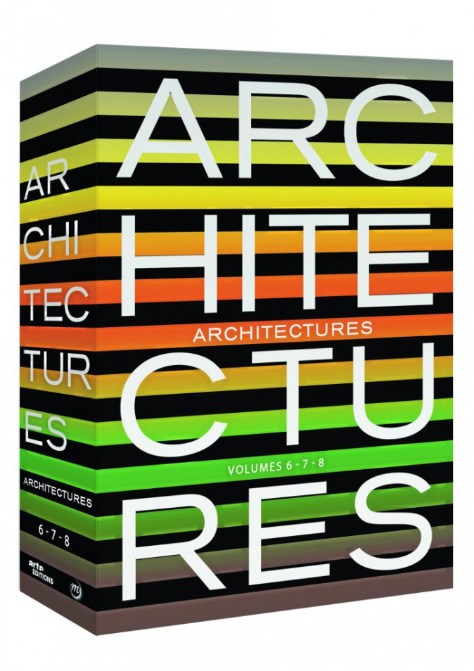 Coffret DVD, Architectures, volumes 6,7,8 Arte Video 35€