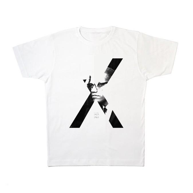 T-shirt Malcolm X, Deeself. 39 € (disponible sur lollil.com)