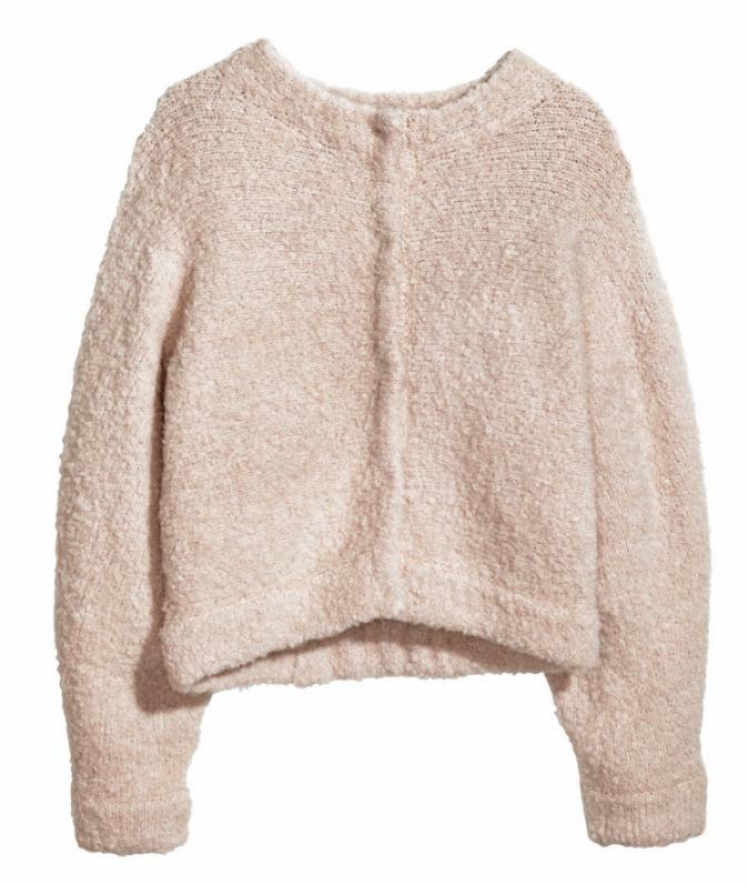 Pull en laine, H&M, 49,95€