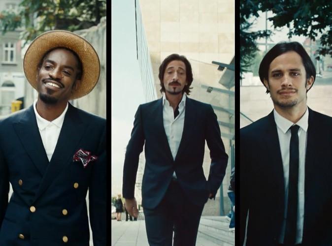 Vidéo beauté : Adrien Brody, André 3000 et Gael Garcia Bernal pour le nouveau rasoir Gillette !