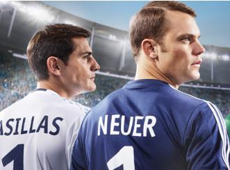 Vidéo : Iker Casillas et Manuel Neuer vont droit au but pour Head and Shoulders !