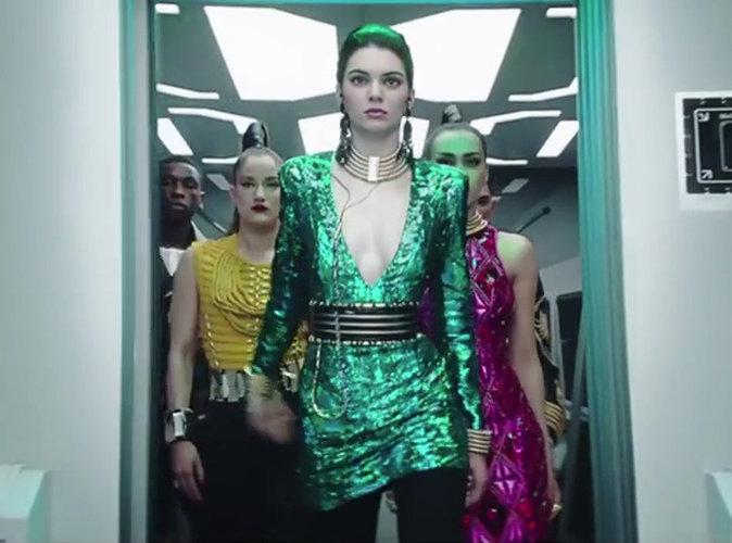 """Vidéo : Kendall Jenner, meneuse de """"battle"""" endiablées pour Balmain x H&M !"""